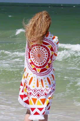 Cupshe Pain Behind Beauty Beach Towel