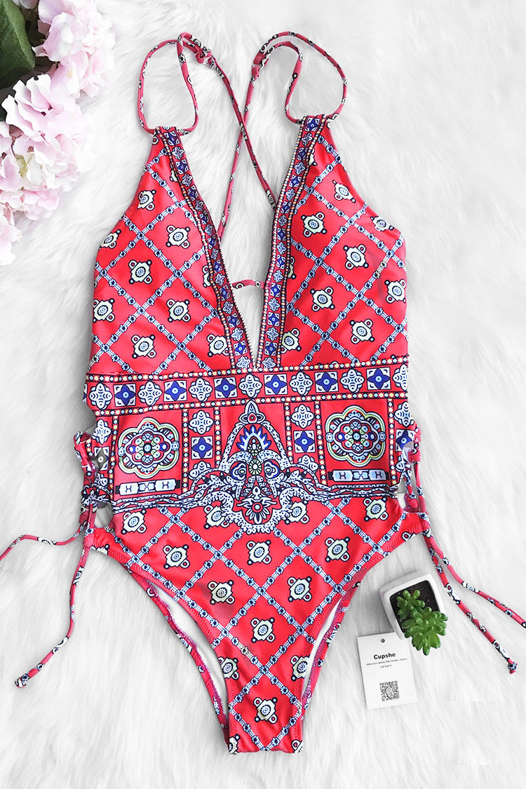 You\'ll definitely want this Cupshe Waiting For The Sun One-piece Swimsuit in your wardrobe! Product Code CYY715 Details Printing With padding bra Adjustable shoulder straps Fabric Chinlon,Elastane Reference model try on SIZE M, height 5\'9, weight 155 lbs, bust 36C SIZE(IN) US LENGTH WAIST HIP S 4/6 25.2 25.2 30.7 M 8/10 26.0 26.8 32.3 L 12/14 26.8 28.4 33.9 XL 16/18 27.6 29.9 35.4 XXL 20 28.4 31.5 37.0 size chartplease allow 0.4-0.8 differs due to manual measurement Swim Top Sizing Guide S M L XL XXL 32C 32D 34A 34B 34C 34D 36A 36B 36C 36D 38A 38B 38D 40B 40C 40D 40A 40B 40C 40D
