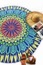 Cupshe Colorful Chrysanthemum Ethnic Tapestry