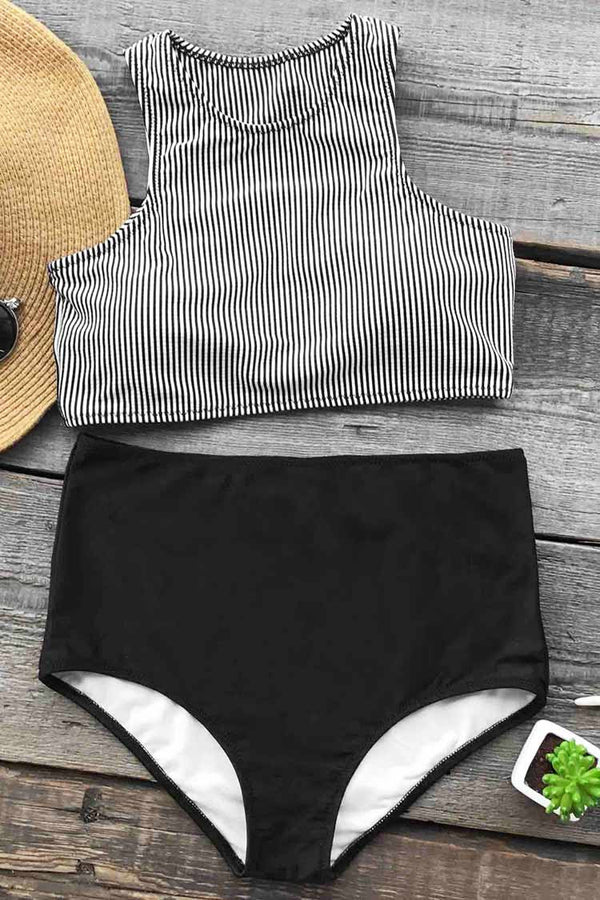 Enjoy Summer Time Tank Bikini Set