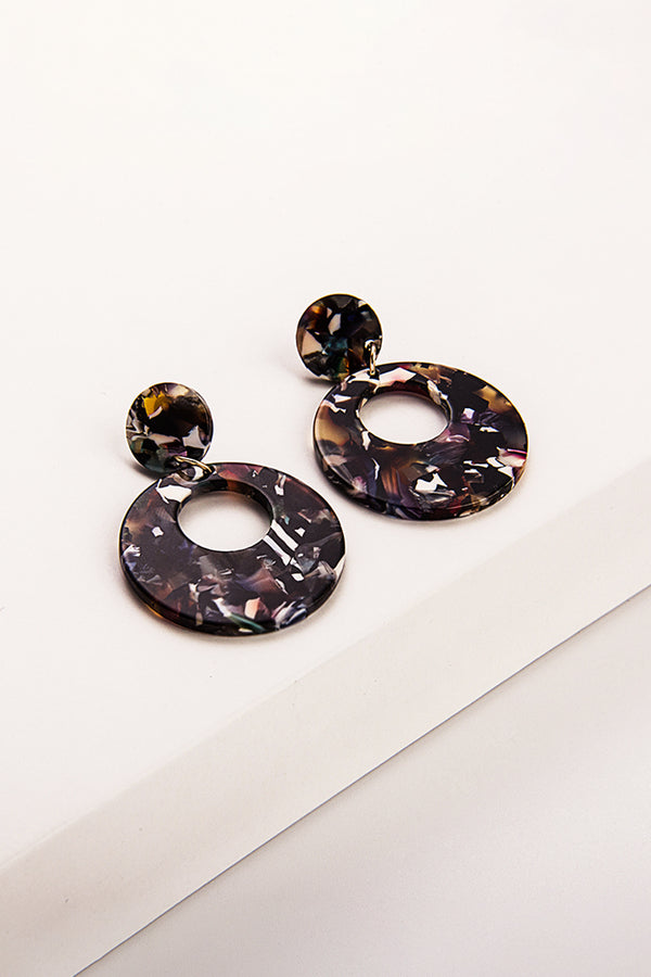 Colorful Round Stylish Earrings