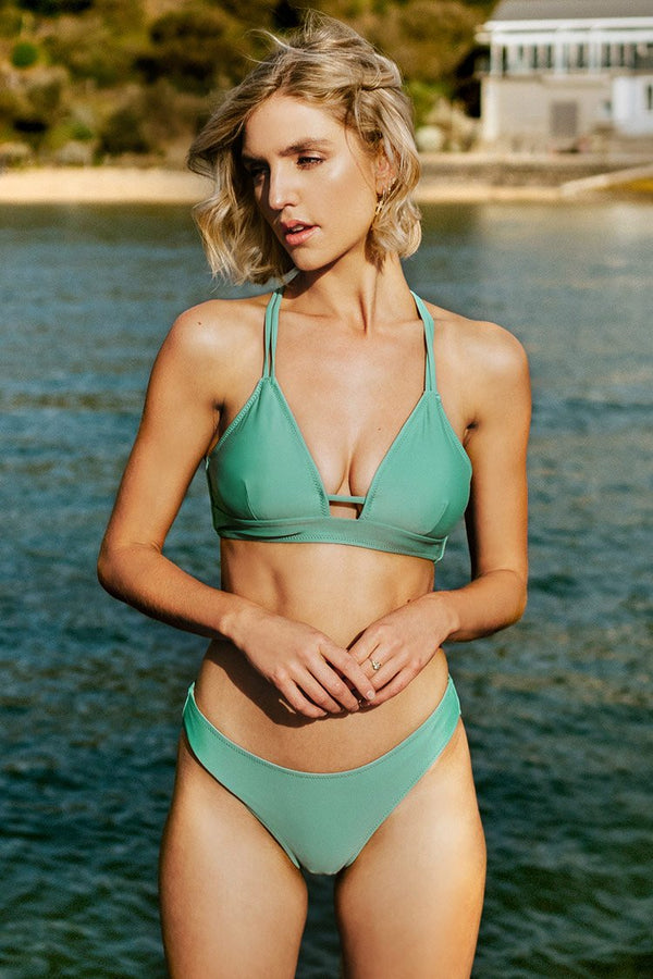 Light Green Strappy Bikini