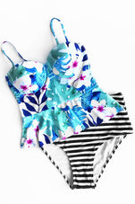 Cupshe Glowing Up Floral Bikini Set