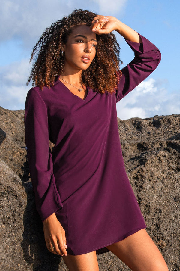 Purple Tunic Dress