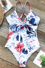 Cupshe Cloudy Sphere Print One-piece Swimsuit