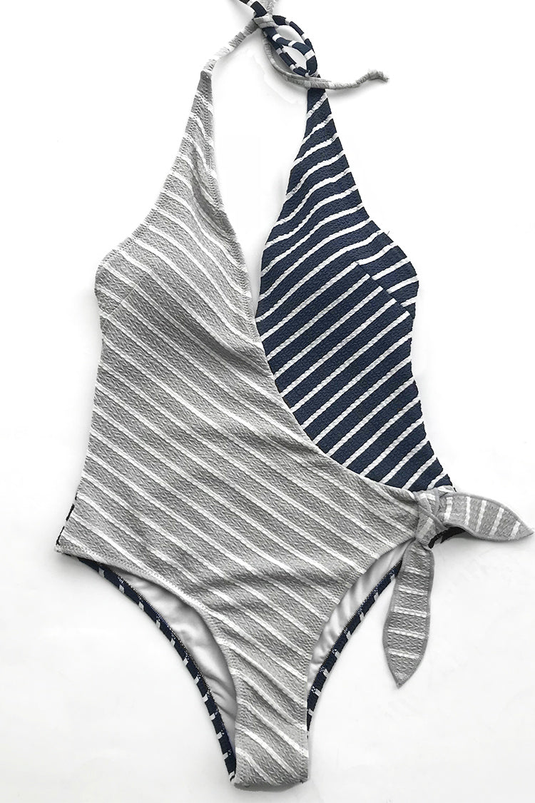 You are going to fall in love with this swimsuit. Product Code AA20013SDetails Stripe design Removable padding bra Regular wash Special fabric 95% polyester,5% spandex Referencemodel try on SIZE M, height 5\'8, weight 150 lbs, bust 36C SIZE(IN) US UNDERBUST WAIST HIP S 4/6 / 24.4 29.9 M 8/10 / 25.9 31.5 L 12/14 / 27.6 33.1 XL 16/18 / 29.1 34.7 XXL 20 / 30.7 36.2 size chartplease allow 0.4-0.8 differs due to manual measurement Swim Top Sizing Guide S M L XL XXL 32C 32D 34A 34B 34C 34D 36A 36B 36C 36D 38A 38B 38D 40B 40C 40D 42B 42C 42D 40D
