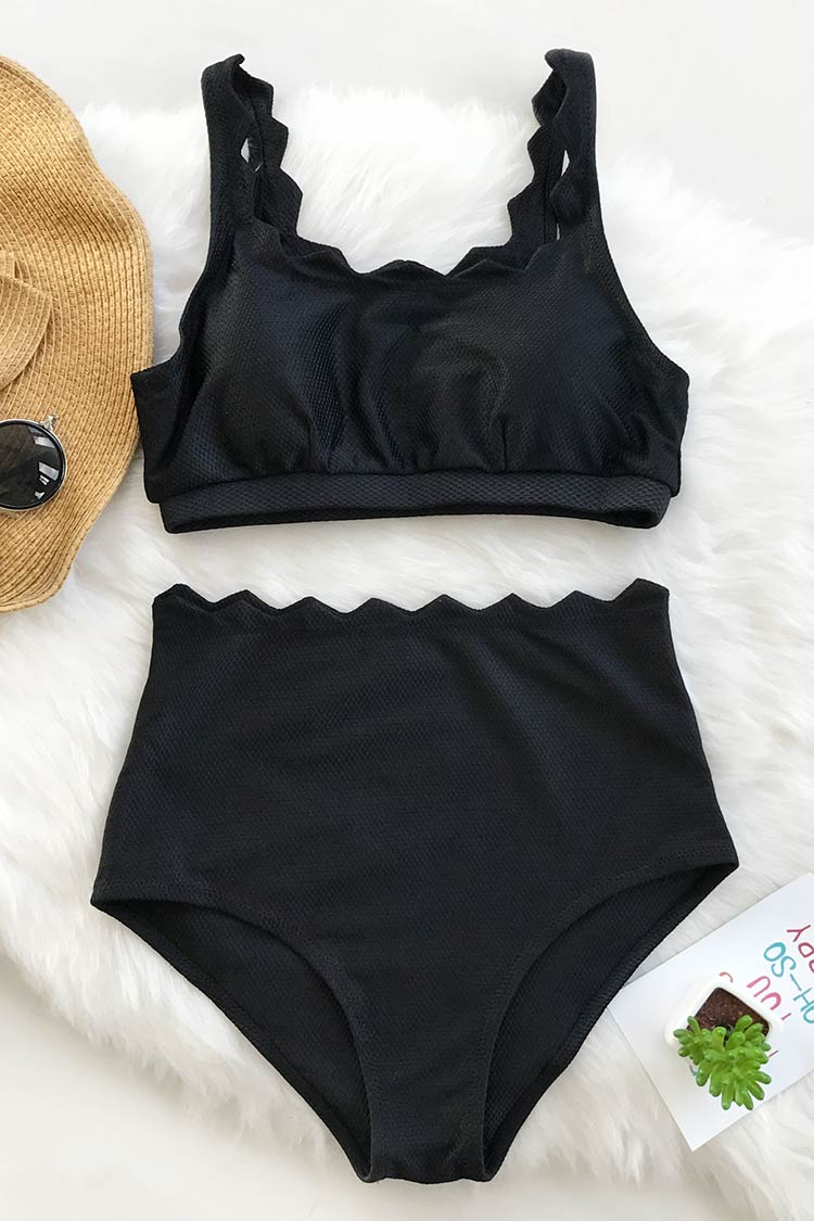 3ea71fa6d1 Seaside Tank High-waisted Bikini Set