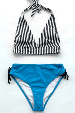 Dream Girl Stripe Bikini Set