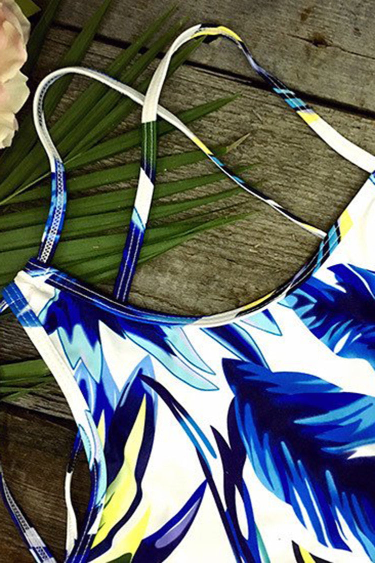 Cupshe Light as a Feather Tank Bikini Set