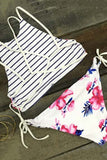 Cupshe Fallin' For You Floral Bikini