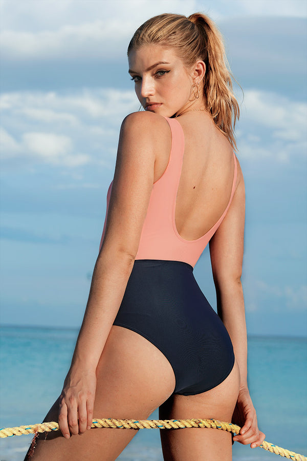 Good To Me Solid One-piece Swimsuit