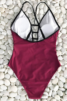 Stay Together Mesh One-piece Swimsuit