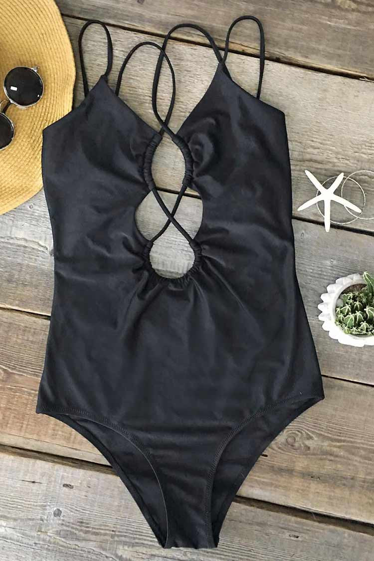 Cupshe Cant Miss This Strappy One-piece Swimsuit CYY559LM