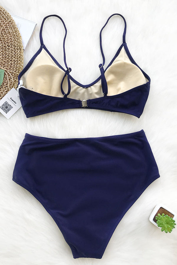 Bound To Wow Embroidery Bikini Set