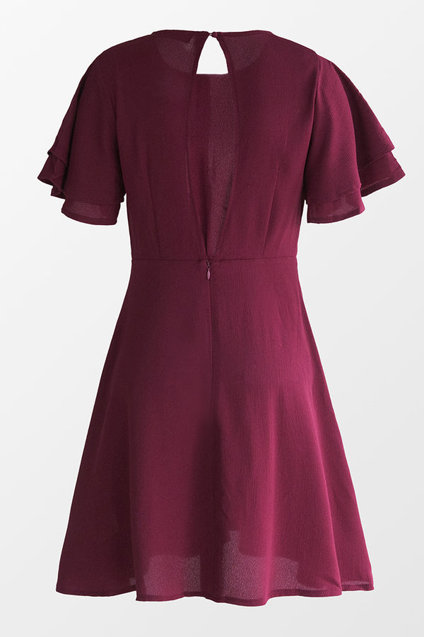 Anne Keyhole Back Dress