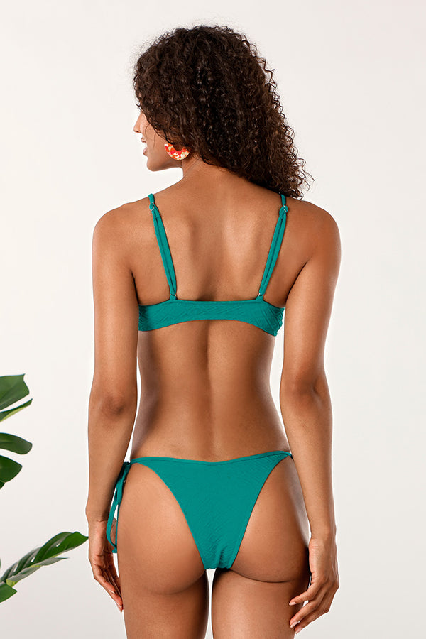Aqua O-ring Low Rise Bikini