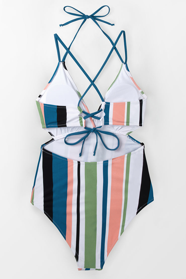 So Sweet and Stripey One-Piece Swimsuit