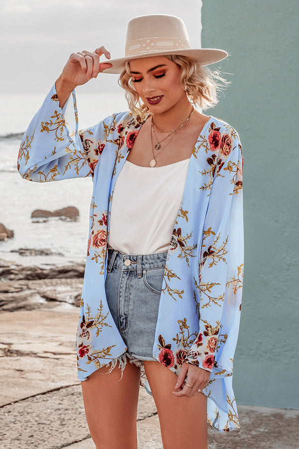 Romantic Floral Cover Up