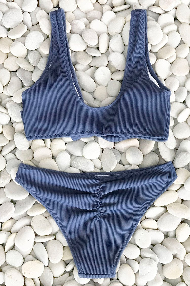 Deep Love Solid Bikini Set