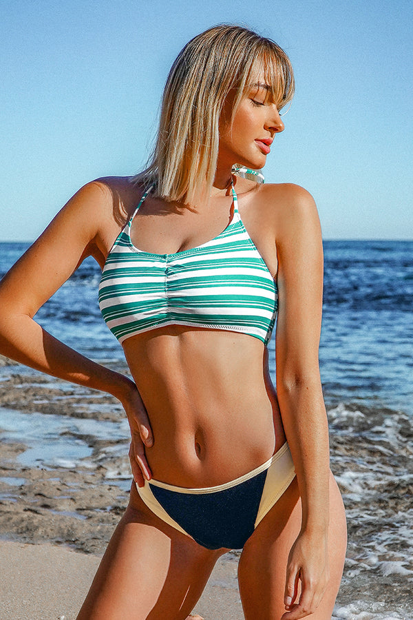 Lost In the Dream Colorblock Bikini Bottom