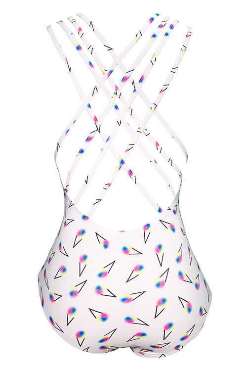 Cupshe Loving Ice Cream One-piece Swimsuit