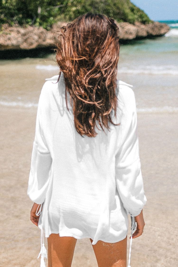 White Tunic Cover Up
