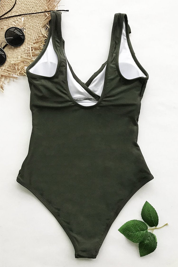Sense Your Fragrance Falbala One-piece Swimsuit