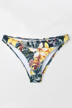 9e1c2f21f70 Tropical Floral Hipster Bikini Bottom