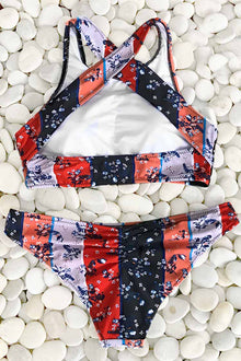 Cupshe Chasing And Romping Tank Bikini Set