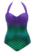 Cupshe Mermaid Halter One-piece Swimsuit