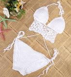 Cupshe Lovesun Crochet Bikini Set