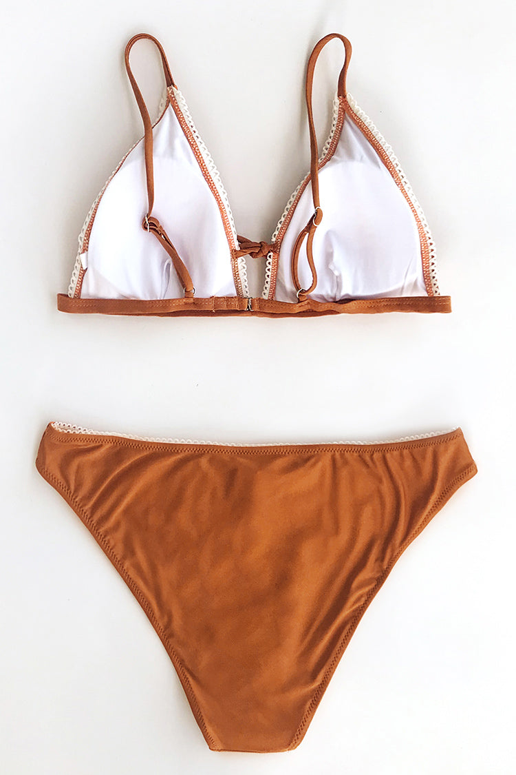Bondi Beach Solid Triangle Bikini Bottom