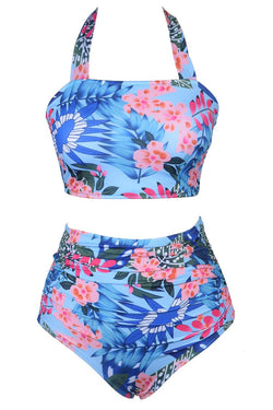 Fairy Beside Sea Floral Bikini Set