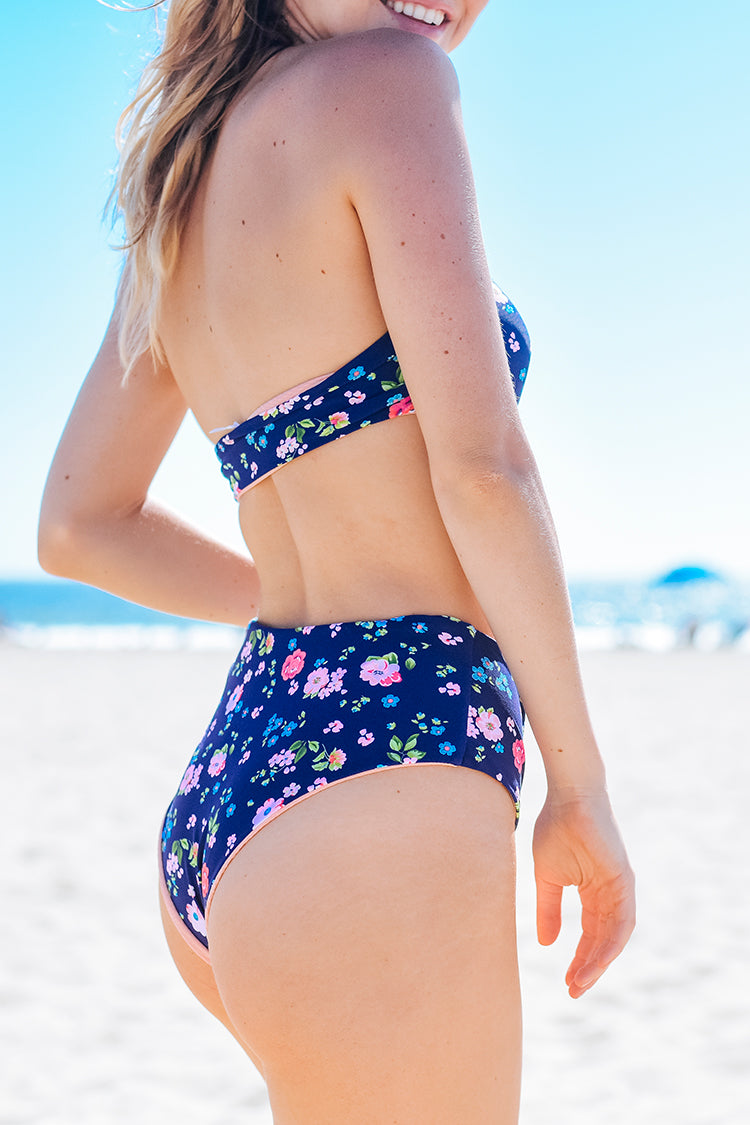 Reversible | Honey High-waisted Bikini