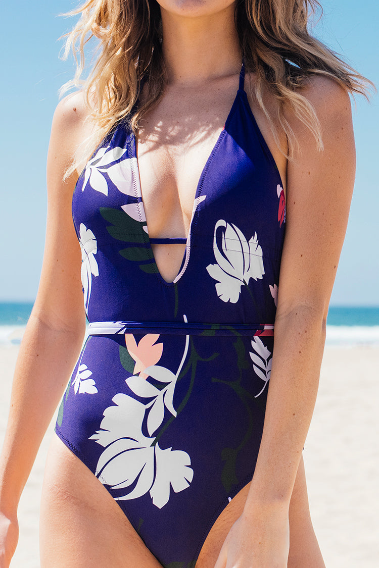 Moody Hues Print One-piece Swimsuit