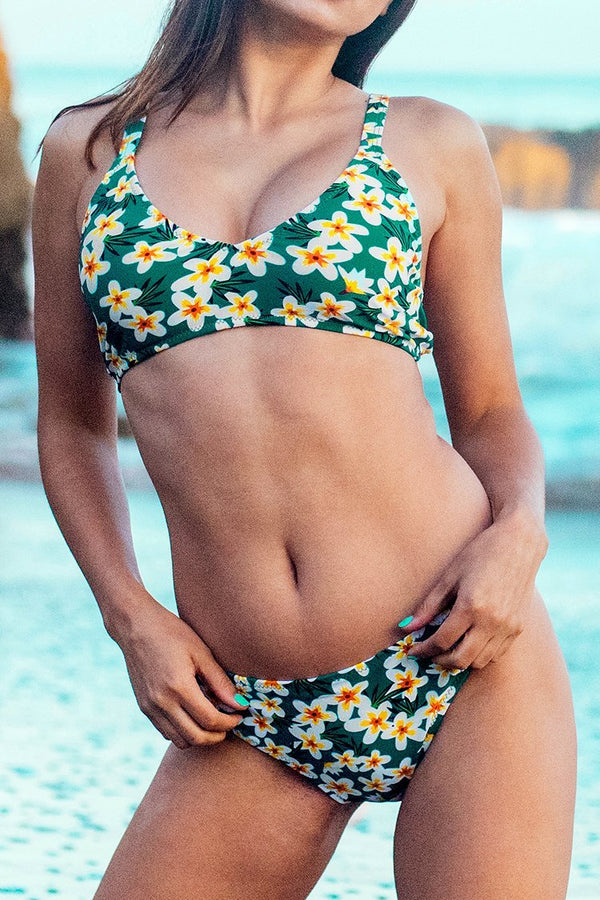 The Wizard of OZ Print Bikini Set