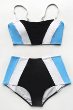 Cupshe Your Charming Way High-waisted Bikini Set