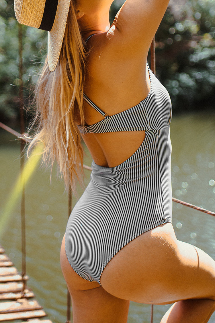 Wish You Well Lace One-piece Swimsuit