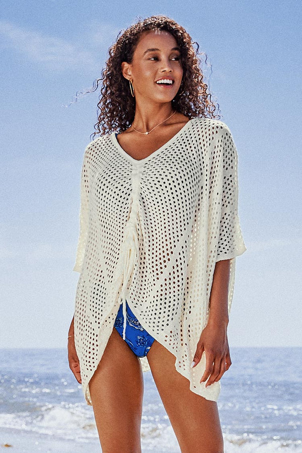Miriam V-Neck Cover Up