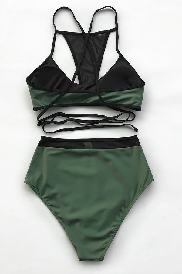 Summer Days Mesh Bikini Set