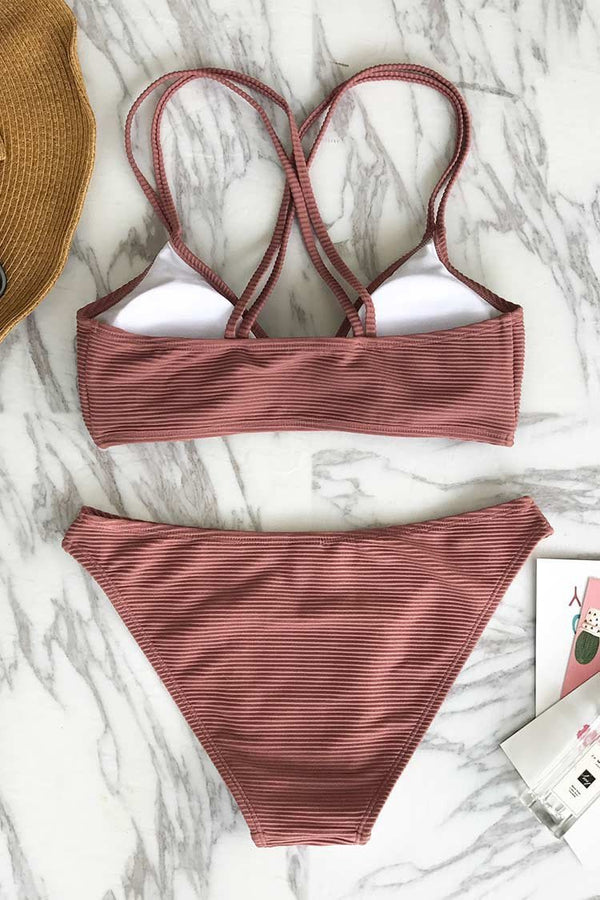 Healing Whisper Cross Bikini Set