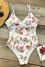 Cupshe Dancing Butterfly Print One-piece Swimsuit