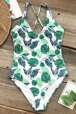 Cupshe Beauties Of Nature Print One-piece Swimsuit