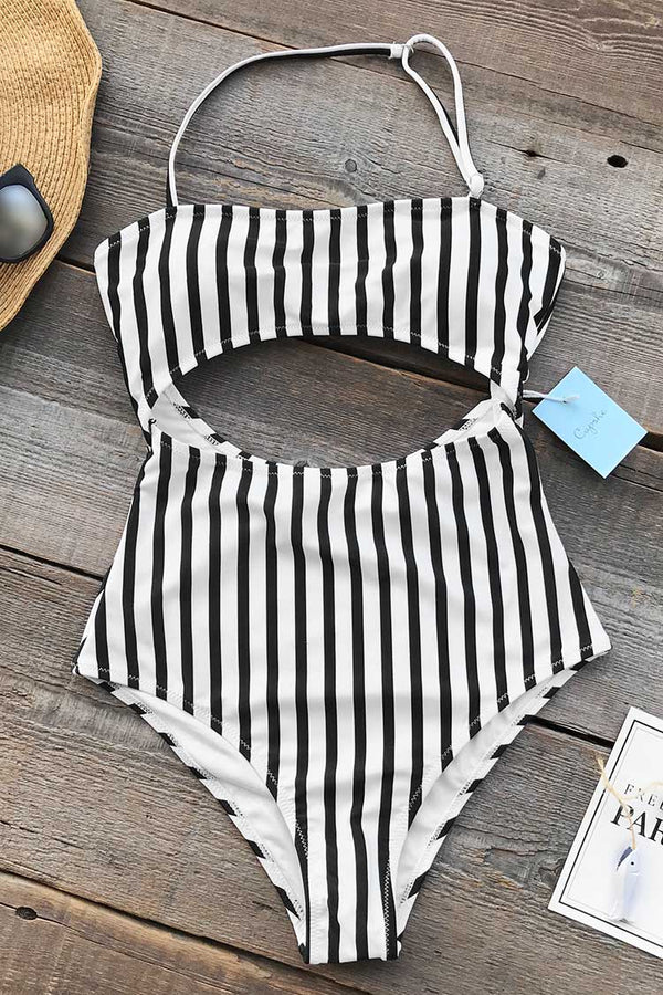 Eternal Summer Stripe One-piece Swimsuit