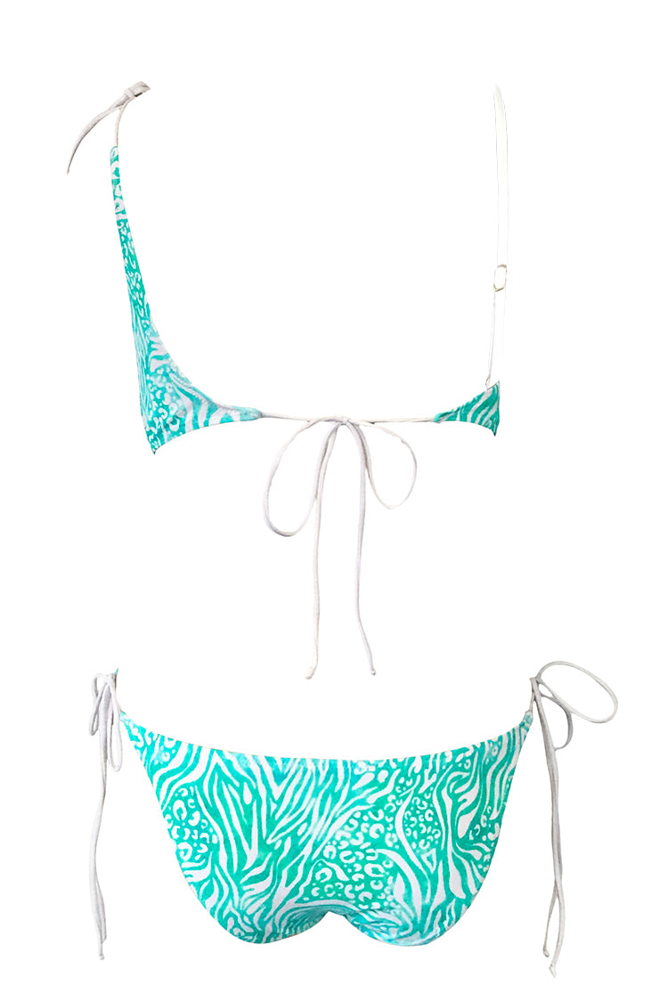 Keep Energetic Print One-piece Swimsuit