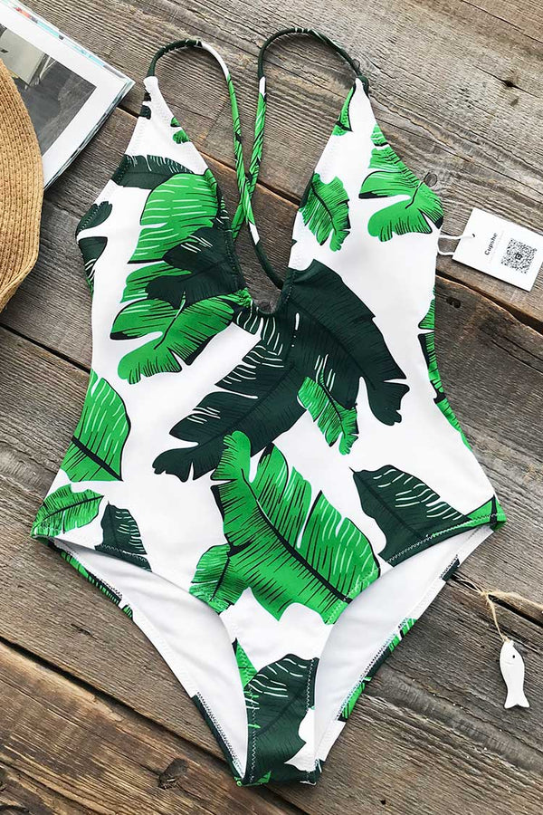 Best Of You Print One-piece Swimsuit