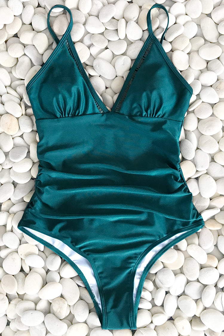 Only In Dreams Shirring One-piece Swimsuit