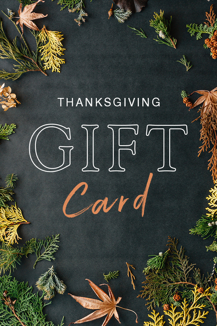 E-Gift Card-Thanksgiving day
