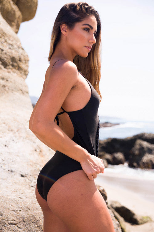Cupshe Somewhere Out There Crochet Swimsuit