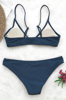 You Get It Solid Bikini Set